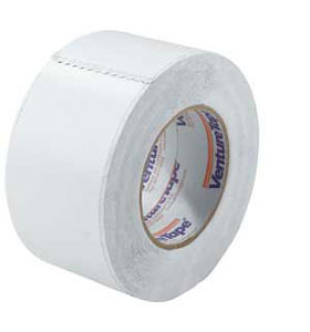 White Reinforced Vinyl Insulation Tape 3 Quot X 150